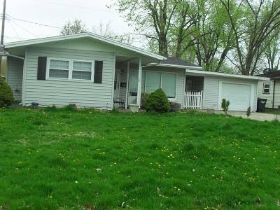 Vermilion County Single Family Home For Sale: 509 W Roselawn