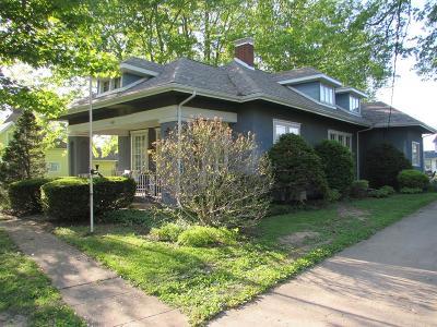 Vermilion County Single Family Home For Sale: 501 W Vermilion