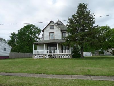 Catlin IL Single Family Home For Sale: $84,500