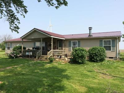 Vermilion County Single Family Home For Sale: 10553 E 3550 North Rd