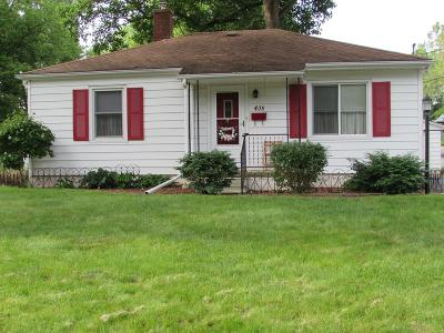 Vermilion County Single Family Home For Sale: 408 Chester