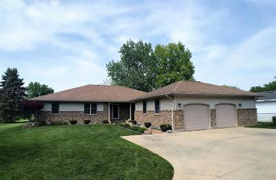 Vermilion County Single Family Home For Sale: 1407 Golf Terrace