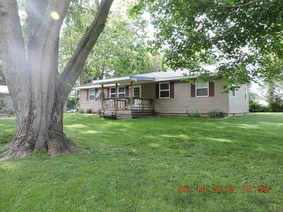 Vermilion County Single Family Home For Sale: 16579 E 2080