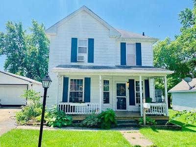 Vermilion County Single Family Home For Sale: 411 E Seminary