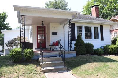 Single Family Home For Sale: 220 E Raymond