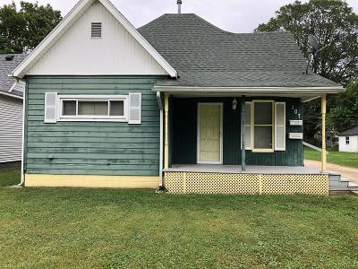 Vermilion County Single Family Home For Sale: 107 Ave D