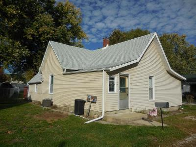 Vermilion County Single Family Home For Sale: 12 Ash