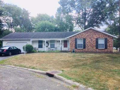 Vermilion County Single Family Home For Sale: 910 Woodlawn Ct