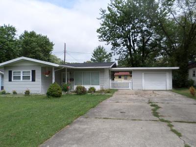 Danville Single Family Home For Sale: 509 W Roselawn