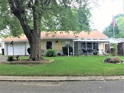 Danville Single Family Home For Sale: 1117 Saratoga Dr.