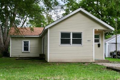 Vermilion County Single Family Home For Sale: 1609 Lincoln