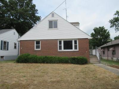 Vermilion County Single Family Home For Sale: 910 W Main Street