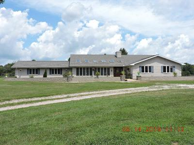 Vermilion County Single Family Home For Sale: 12999 E 475 N Rd