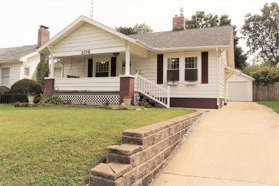Single Family Home For Sale: 306 E Raymond