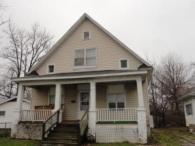 Decatur IL Single Family Home For Sale: $9,500