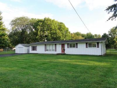 Decatur IL Single Family Home For Sale: $110,000