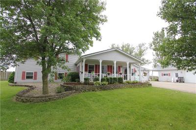 Single Family Home For Sale: 9344 E Cr 800 N Road