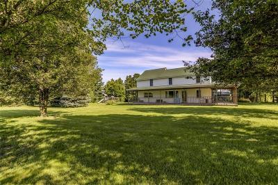 Single Family Home For Sale: 9098 Caleb Road