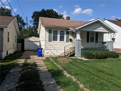Decatur Single Family Home For Sale: 1172 W Packard Street
