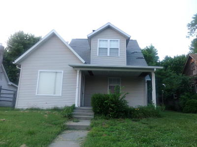 Murphysboro Single Family Home For Sale: 418 Walnut