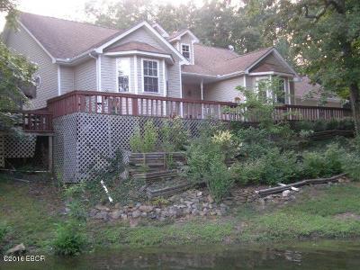 Goreville Single Family Home Active Contingent: 1307 S Lake Shore Drive South