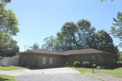 West Frankfort Single Family Home For Sale: 1718 Russell Road