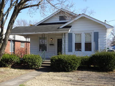 Harrisburg IL Single Family Home For Sale: $46,900
