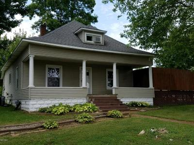 Goreville Single Family Home For Sale: 208 N Broadway