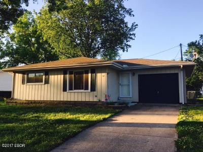 Murphysboro IL Single Family Home For Sale: $93,000