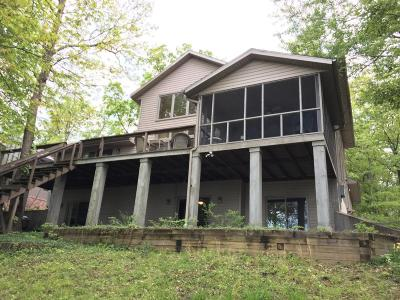 Creal Springs, Goreville, Marion Single Family Home For Sale: 12247 Pebble Point Rd