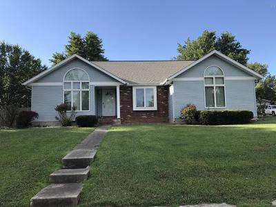 West Frankfort Single Family Home For Sale: 1301 E Clark