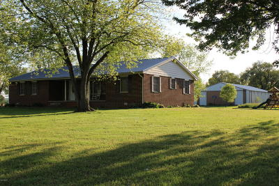 Single Family Home For Sale: 5905 Saline Mine Road