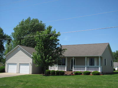 Carterville Single Family Home Active Contingent: 1206 Marion Street