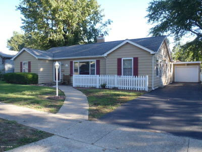 Murphysboro Single Family Home Active Contingent: 2223 Dewey St