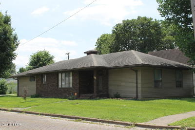 Herrin Single Family Home For Sale: 216 N 12th Street