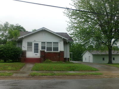 Murphysboro Single Family Home For Sale: 1426 Gartside Street
