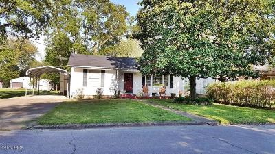 Massac County Single Family Home Active Contingent: 1406 Catherine Street