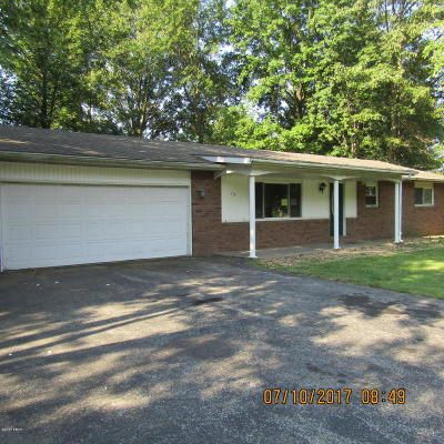 Raleigh IL Single Family Home For Sale: $54,900