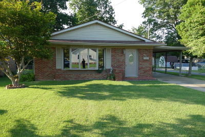 Massac County Single Family Home Active Contingent: 403 W 19th Street