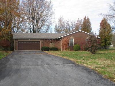 Benton Single Family Home For Sale: 12297 N Benton Road