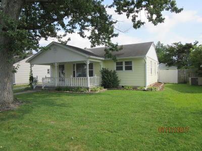 Massac County Single Family Home Active Contingent: 104 Oak Lane