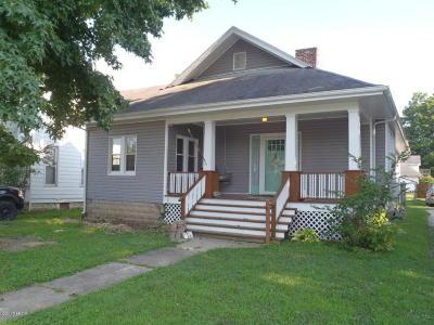 Murphysboro Single Family Home For Sale: 2009 Walnut