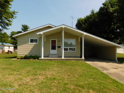 West Frankfort Single Family Home For Sale: 303 E Cleveland