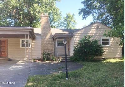 Murphysboro IL Single Family Home For Sale: $34,900