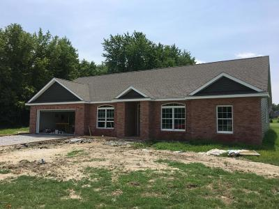 Herrin Single Family Home Active Contingent: 1206 Wildflower
