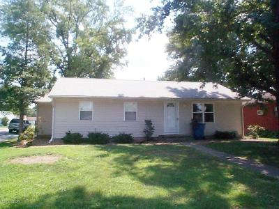 Benton Single Family Home Active Contingent: 1108 Glendale