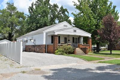 West Frankfort Single Family Home For Sale: 909 E Poplar