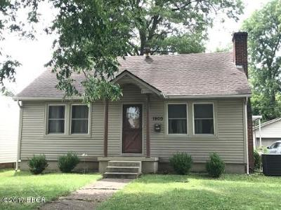 Massac County Single Family Home For Sale: 1905 Mc Crary Street