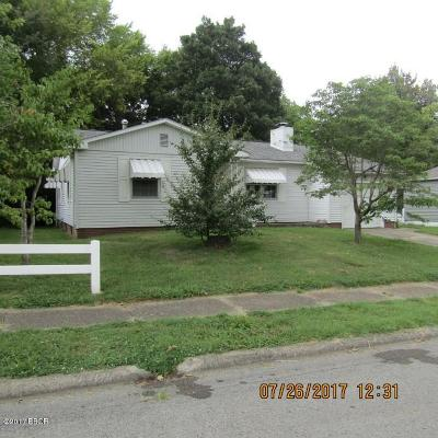 Harrisburg IL Single Family Home For Sale: $47,500