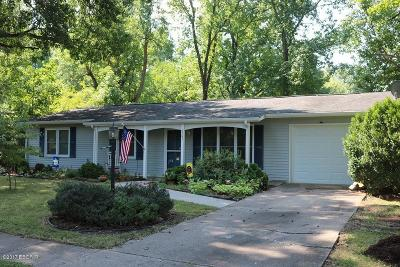 Carbondale IL Single Family Home For Sale: $126,500
